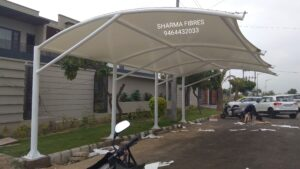 Tensile structure roof Manufacturer Mohali town in India