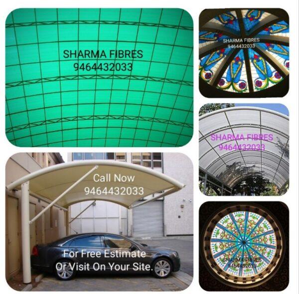 Roofing Fibre Fiberglass Domes Fibre Sheets in India 2