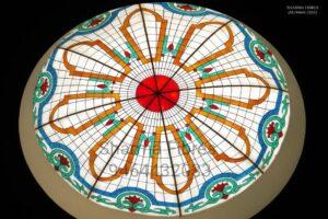 Fiberglass dome | Glass Dome | touched glass dome design