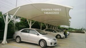 Tensile structure manufacturer, Car parking shade manufacturer, garden gazebo manufacturer in Mansa